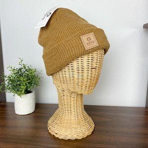 ROVE Supply Co. Caramel waffle knit beanie